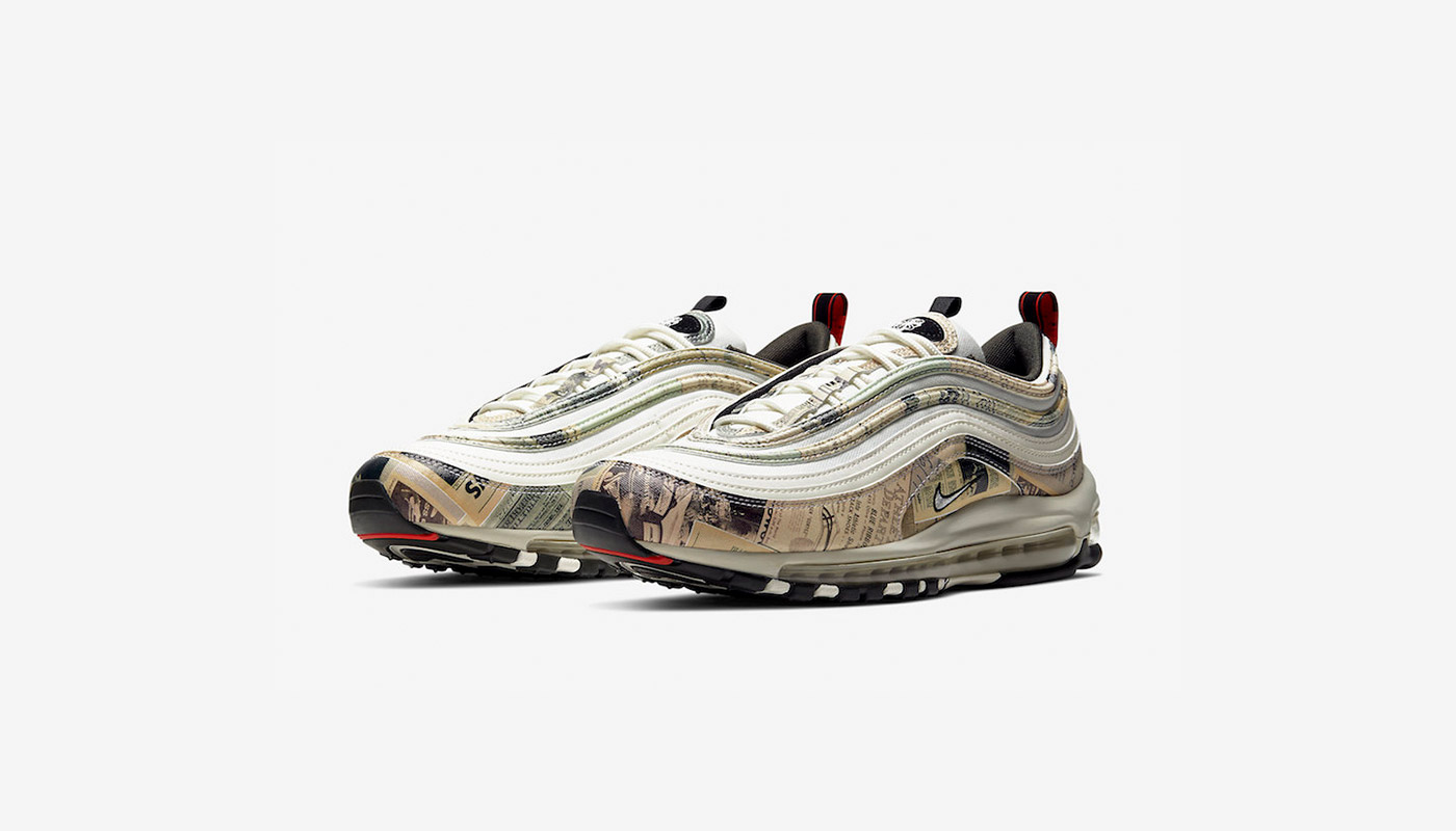 preview nike air max 97 newspaper le