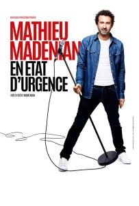 Affiche one-man-show Mathieu Madenian