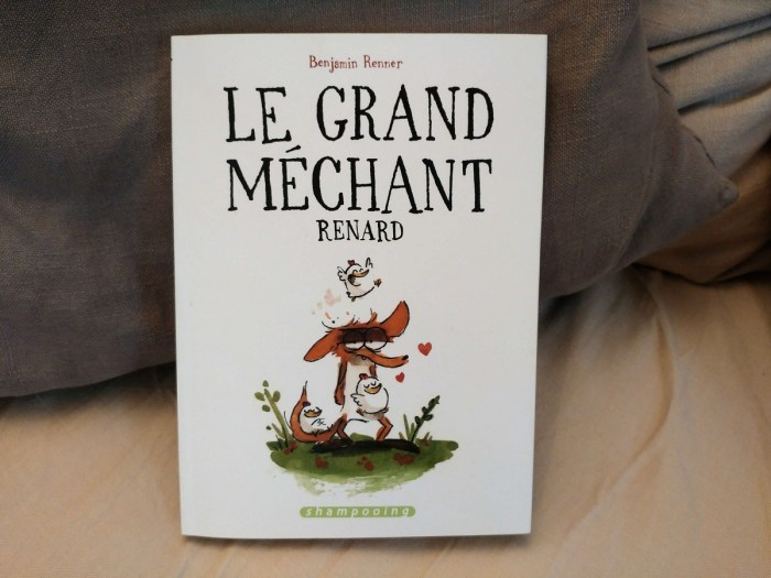 Couverture de la BD Le grand Méchant Renard