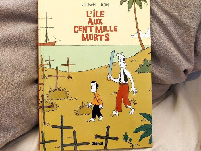 couverture de la bande dessinnee l'ile aux cent mille morts