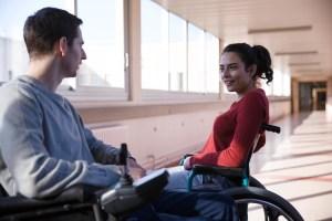Ben et Samira dans le film Patients de Grand Corps Malade