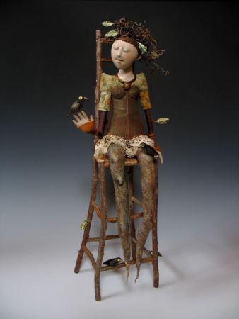 poupée et Teddy rendant plus autres métiers John Jame Soft Sculpture Aiguilles