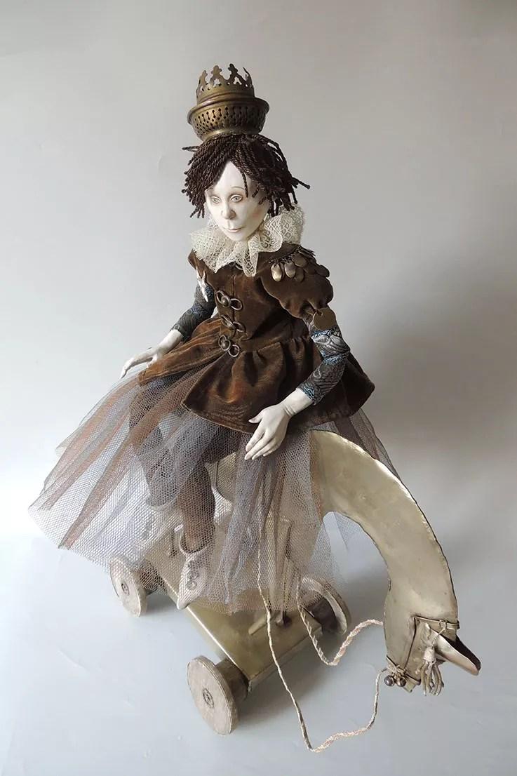 Marlaine Verhelst poupées d