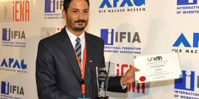 Nouvelle consécration pour l'inventeur marocain Majid El Bouzzaoui