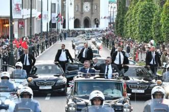 Officiel: le roi de Jordanie en visite au Maroc