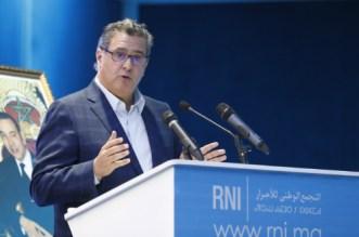 Propos d'Akhannouch sur les Marocains: le RNI brise le silence