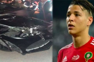 Amine Harit revient sur son accident à Marrakech
