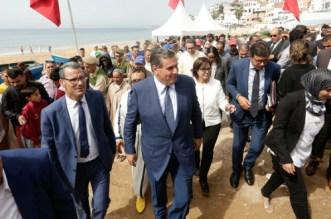 Aziz Akhannouch en visite à Taghazout