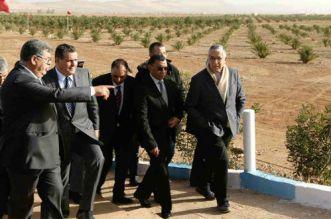 Plan Maroc Vert: Aziz Akhannouch en visite de terrain à Berkane