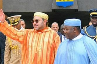 Ali Bongo félicité par le roi Mohammed VI