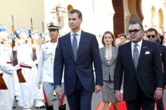Ce qu'a dit le roi d'Espagne au roi Mohammed VI