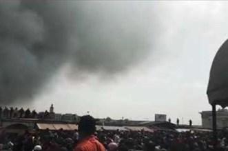Un souk ravagé par un incendie à Casablanca (VIDEOS)