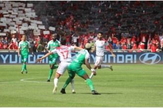 Wydad-Raja: les Rouges prennent l'avantage à la mi-temps (VIDEOS)
