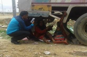 Maroc: une mère et ses enfants vivent sous un camion abandonné
