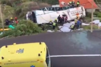 Portugal: terrible drame à Madère (VIDEO)