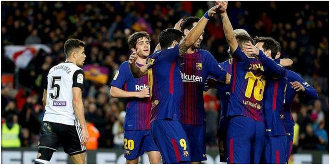Valence bat le Barça et s'offre la coupe d'Espagne