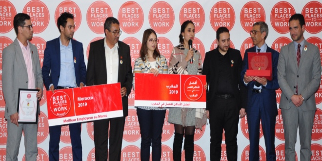 "Best place to work: ""alten maroc"" primée"