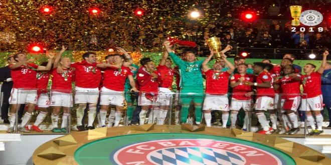 Le Bayern s'offre la coupe d'Allemagne (VIDEO)