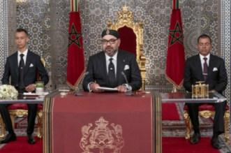 Le roi Mohammed VI adressera ce mardi un discours à la Nation