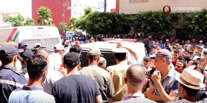 Meurtre d'une enseignante à Sidi Slimane: les voisins sous le choc (VIDEO)