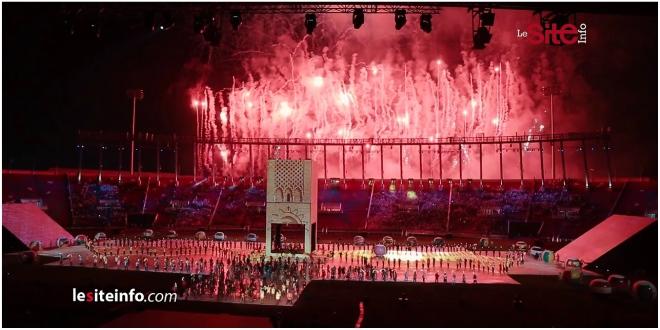 VIDEO: magnifique spectacle lundi soir à Rabat (Jeux africains)