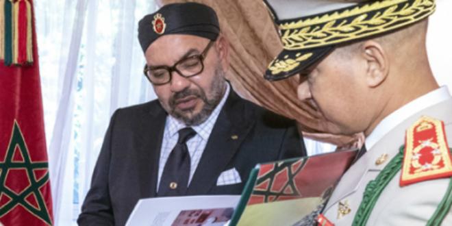 Al Hoceima: focus sur le livre des FAR présenté au roi