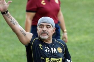 Maradona: à peine parti, déjà revenu !