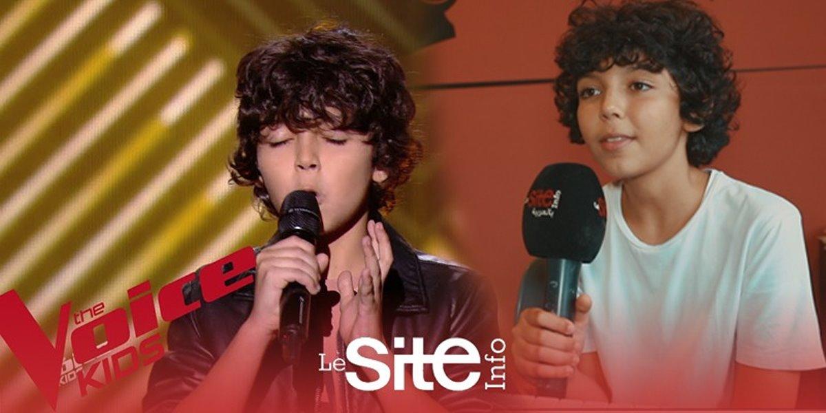 The Voice Kids: Ali, le jeune Marocain, se livre à cœur ouvert (VIDEO)