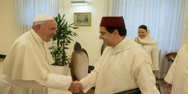 Pourquoi Bourita a été reçu par le pape François