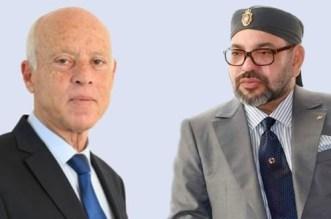 Le roi Mohammed VI s'est entretenu au téléphone avec Kaïs Saïed