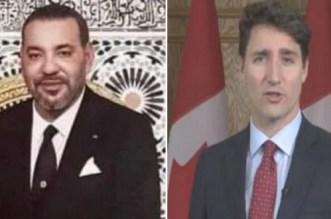 Le roi Mohammed VI a écrit à Justin Trudeau