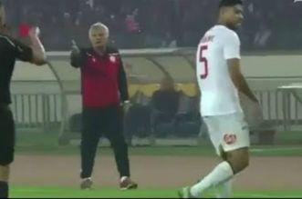 WAC-RSB: le Wydadi Yahya Jabrane a-t-il craché sur l'arbitre ?