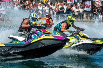 Un championnat international de jet-ski à Agadir