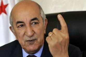 Algérie: Abdelmadjid Tebboune élu président