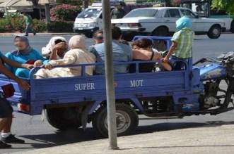 Accident de triporteur dans les environs de Sidi Slimane (PHOTOS)