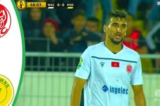 Wydad-Sundowns: les Rouges ne convainquent pas (VIDEO)