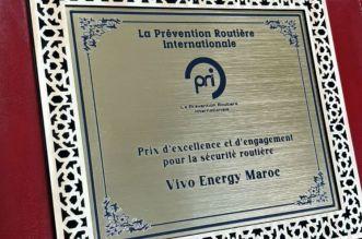Sécurité routière: une reconnaissance internationale pour Vivo Energy Maroc