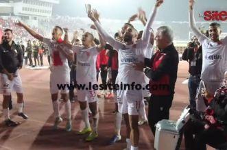 WAC-AS FAR: les Wydadis célèbrent la victoire avec leur public (VIDEO)
