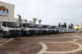 Casablanca reçoit de nouveaux camions à ordures