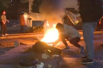Ça commence à chauffer au Liban (VIDEO)
