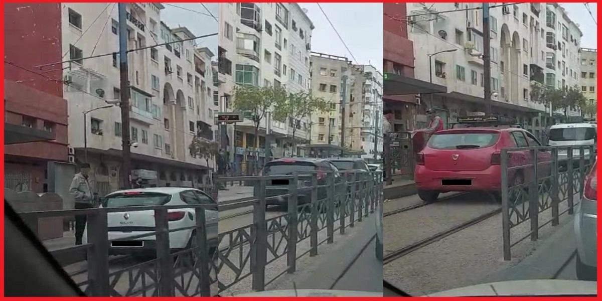 Casablanca: les conducteurs de véhicules roulant sur les voies du tramway risquent gros