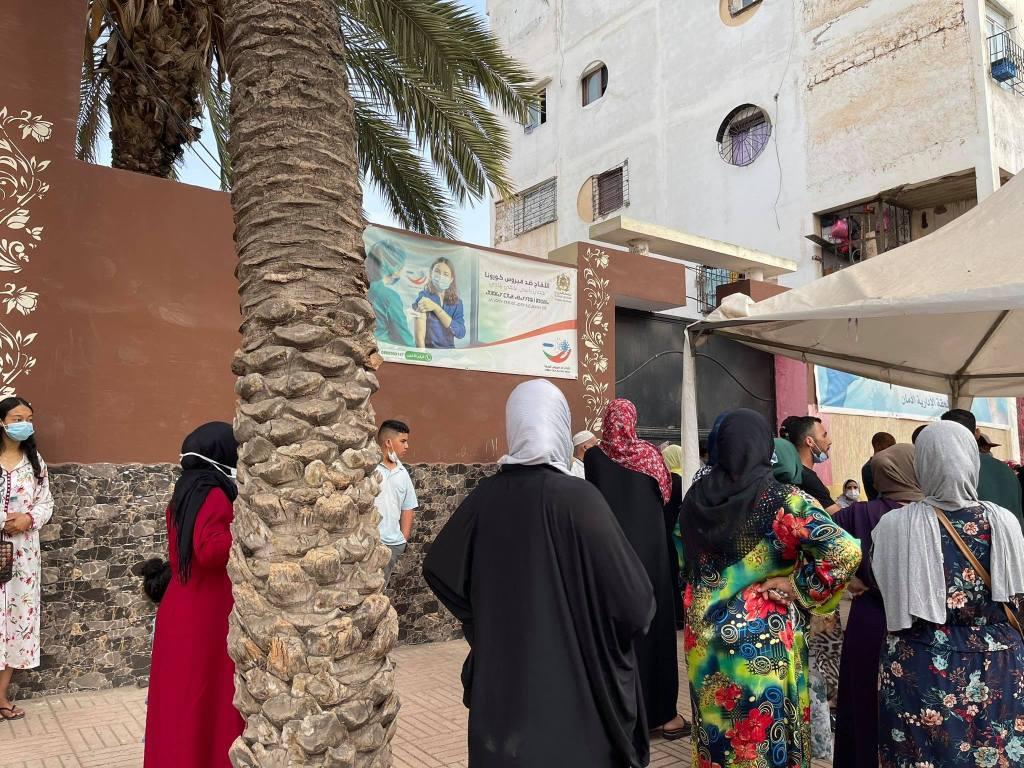 Casablanca: grosse colère après la fermeture de certains centres de vaccination (PHOTOS)