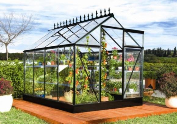 Exemple d'abris pour les plantes