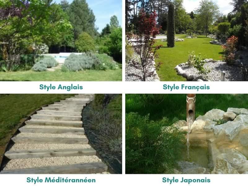 actu les styles de jardin les