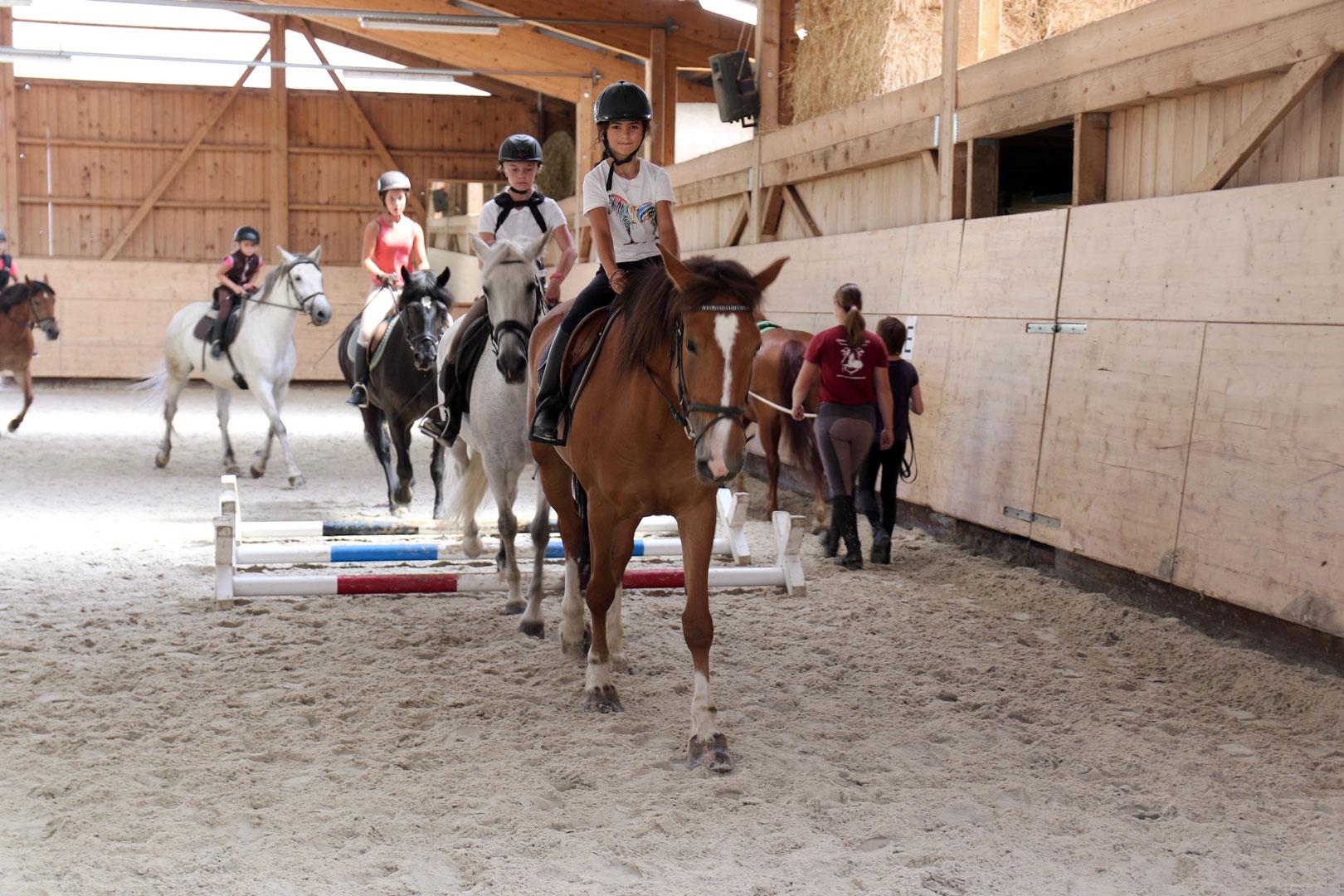 Camps d'équitation automne 2018
