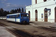 Le train du Blanc-Argent à la grae de Romorantin-Lanthenay