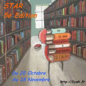 Logo Star 5 - Les lectures de Liyah