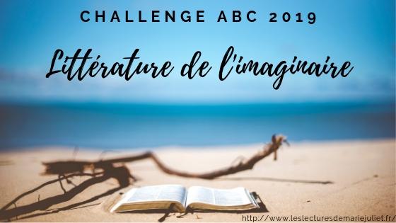 Challenge ABC imaginaire 2019 : mon inscription et suivi