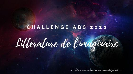 Challenge ABC imaginaire 2020 : mon inscription et suivi