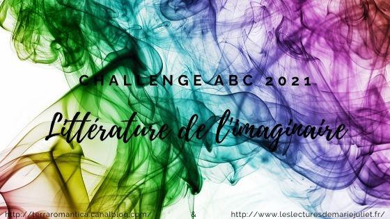 Challenge ABC Littérature de l'imaginaire 2021 : modalités/inscription